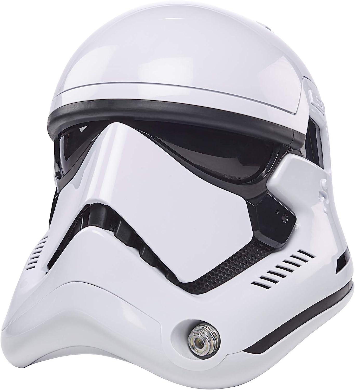 Star Wars The Black Series - First Order Stormtrooper Casco electrónico - Hasbro F00125L0