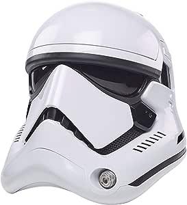 STAR WARS The Black Series - First Order Stormtrooper - Casco electrónico Premium Los últimos Jedi - Artículo de colección para Juego de rol: Amazon.com.mx: Juegos y juguetes