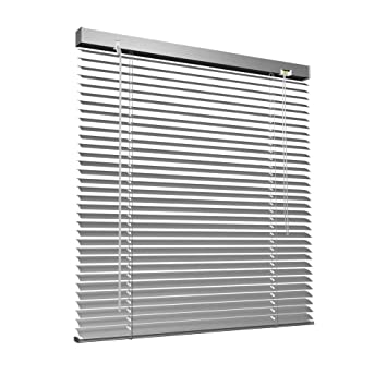 Relativ Amazon.de: Victoria M. Aluminium Jalousie, 90 x 130 cm, Silber CZ41