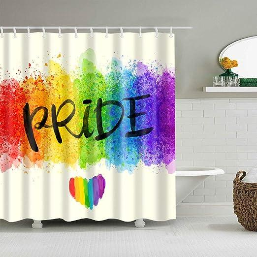 vrupi Pintura Lavado Color arcoíris Las Palabras Orgullo y Amor ...