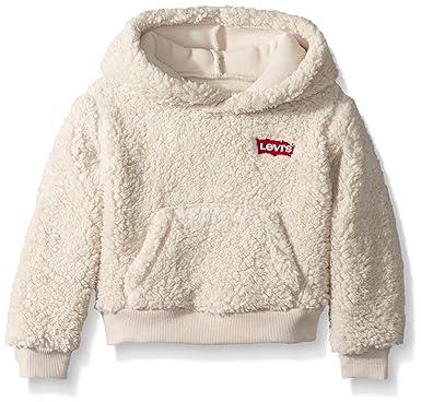 6d897256 Amazon.com: Levi's Girls' Sherpa Hoodie: Clothing