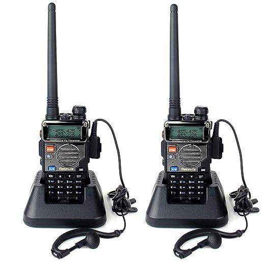 71 opinioni per Retevis RT-5RV Walkie Talkie Ricetrasmettitore 5W 128 Canali VHF / UHF FM Doppia