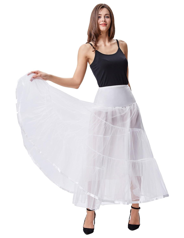 GRACE KARIN Womens Retro Dress Vintage Dress Crinoline Petticoat Underskirt Longuette