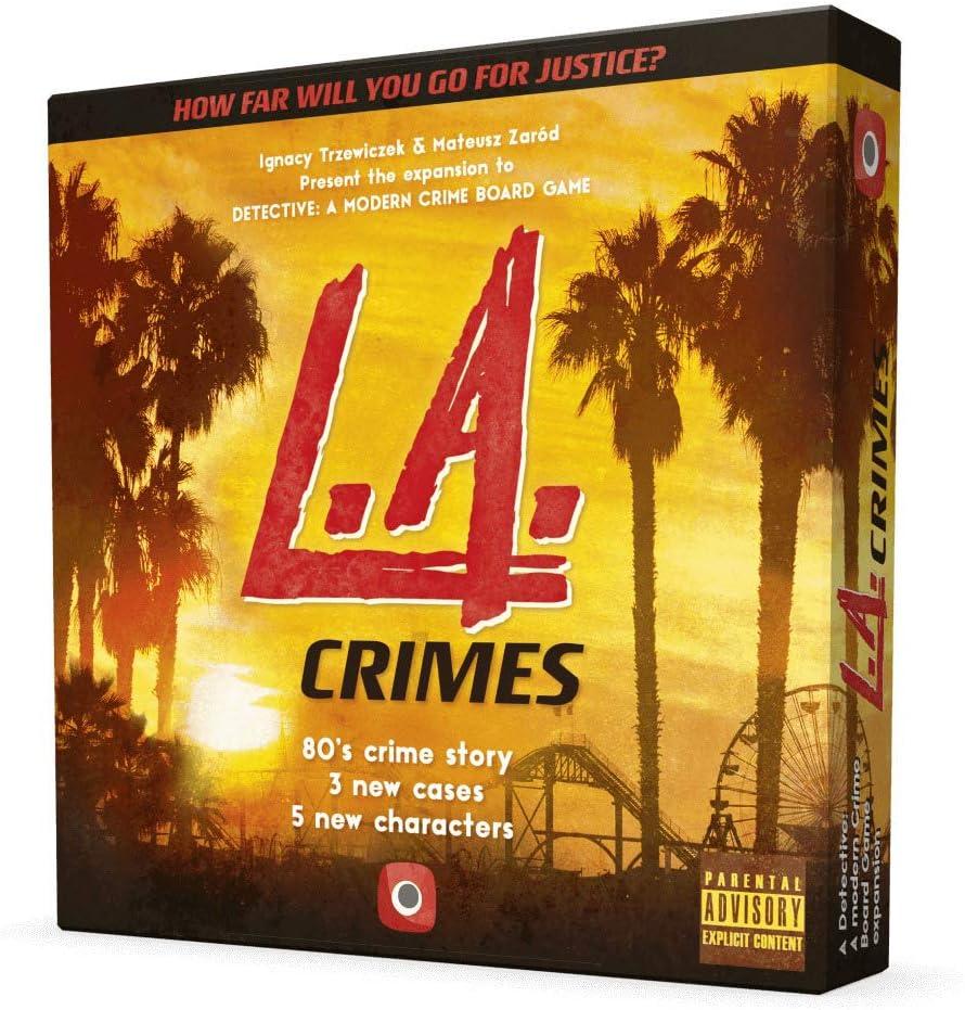 Portal Games POG1924 Detective: L.A. vídeo Juego Crimes Expansion ...