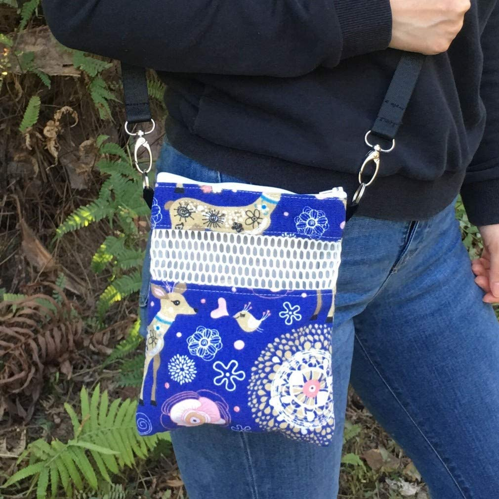 Bag or Purse wScreen for Hedgehog Soft Southwest Fleece Bonding Pouch Rat Sugar Gliders or Small Pet