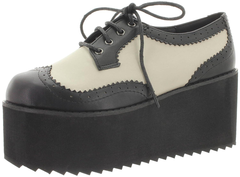 Banned - Zapatillas de Material Sintético para mujer 36 EU blanco y negro