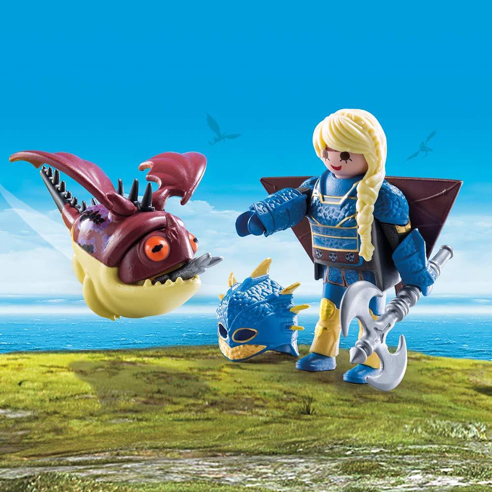 Moccicoso Con Tuta Da Volo Playmobil 70043
