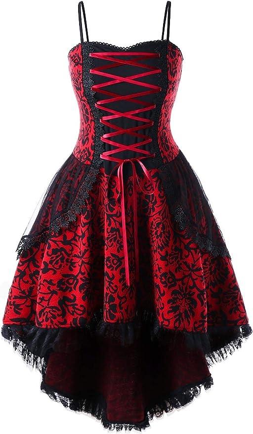 Women's Medieval Plus Size Dress