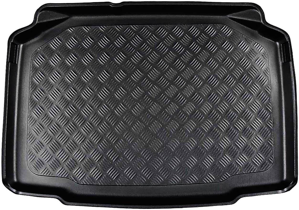 Nomad Auto Tailored Fit Durable Black Boot Liner Tray Mat Protector for Skoda Kamiq