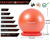 RGGD&RGGL Yoga Ball Chair, Exercise Ball with