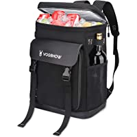 Vogshow Cooler Backpack, 40 Cans Leakproof Soft Cooler Bag for 4, Lightweight Waterproof Insulated Picnic Backpack for…