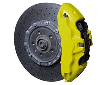 Foliatec 2184 Bremssattel Lack Set Neon Gelb Amazon De Auto
