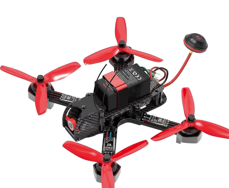 HobbyFlip FPV Racing Drone Kit RTF Quadcopter Devo 7 OSD F215 RTF DEVO7 for  Walkera Furious 215