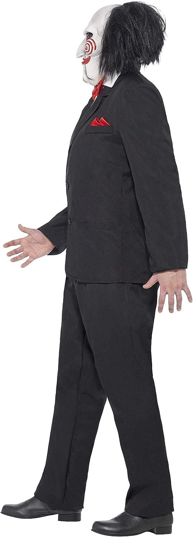 Smiffys-20493XL Licenciado Oficialmente Disfraz de Saw Jigsaw, con ...