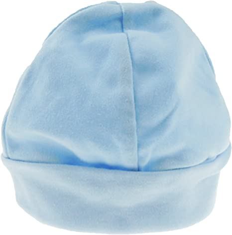 Glamour Girlz - Gorro de algodón muy suave para bebés y niñas, 12 meses Azul azul 3-6 Months Small: Amazon.es: Ropa y accesorios