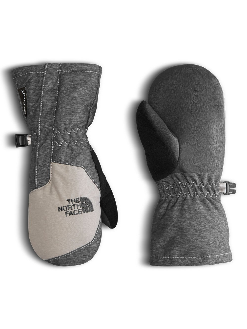 The North Face Little Boys' Toddler Mitts - graphite gry white /metallic