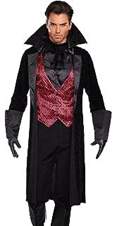 Amazon.com: Smiffys Male Fever Gothic Vamp Costume: Clothing