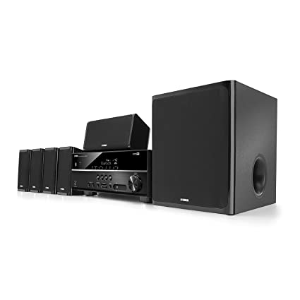 Amazon Com Yamaha Yht 4920ubl 5 1 Channel Home Theater In A Box