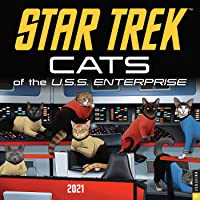 Star Trek: Cats 2021 Wall Calendar