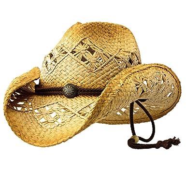 Sonoma - Deadwood Trading Raffia Straw Cowboy Hat  88ad86d21eea
