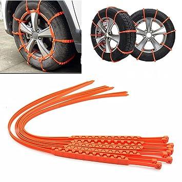 2016 Nueva Invierno de neumáticos rueda antideslizante cadena vehículo zipclipgo salvavidas para coche motocicleta camión SUV