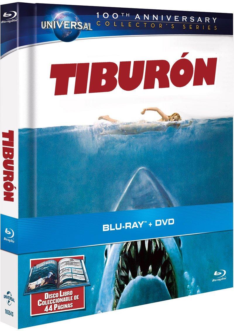 Tiburon - Edición Libro [Blu-ray]: Amazon.es: Roy Scheider ...