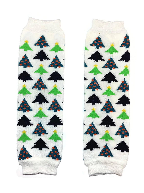 Christmas Baby Leg Warmer// Leggings KWC One Size, Red White Green Chevron