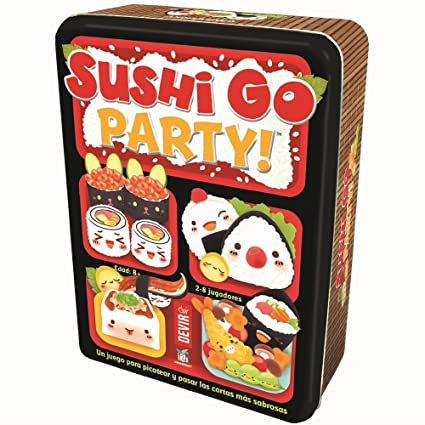 Amazon.com: Devir – Sushi Go Party: Edition in Spanish ...