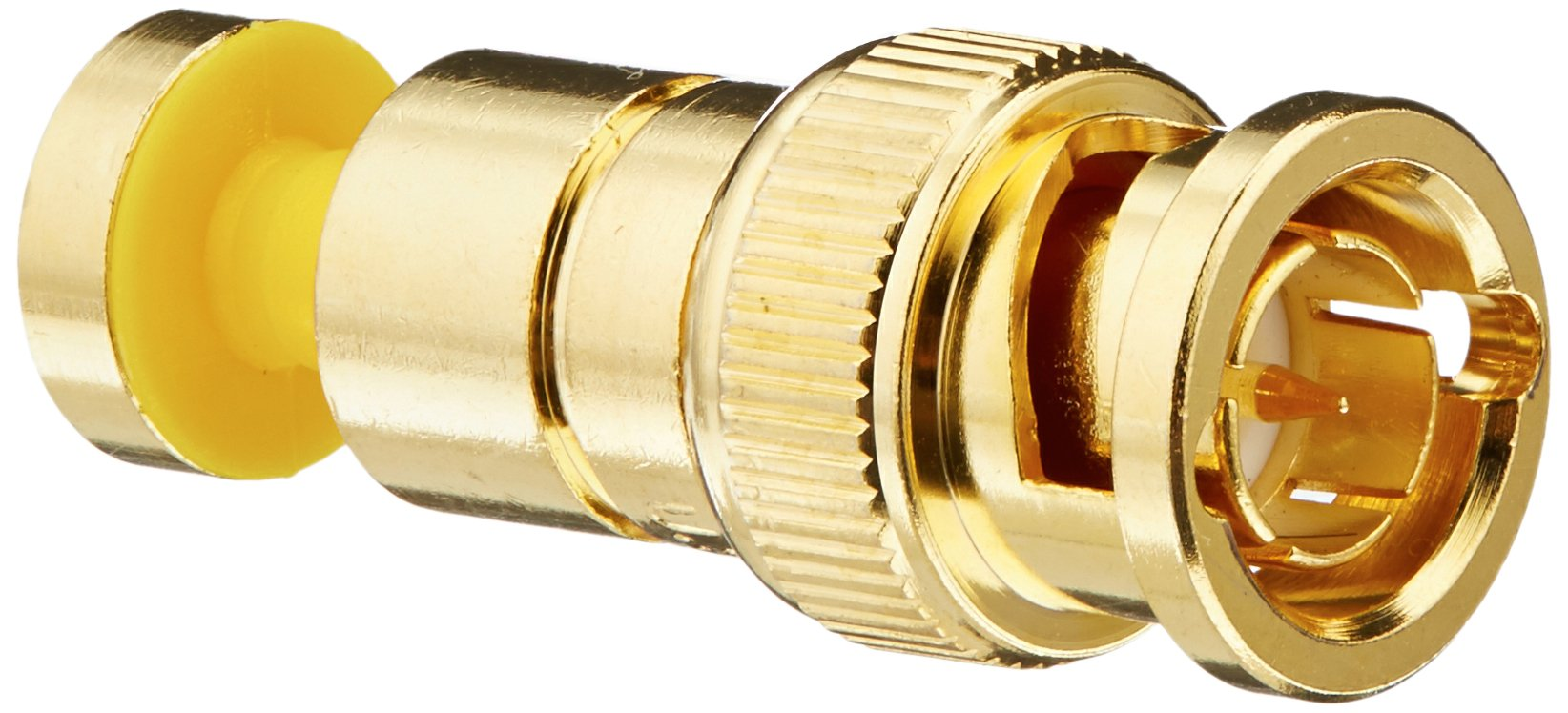 Platinum Tools 18255    BNC RGB Compression 25AWG, Gold Plated, 25-Pack