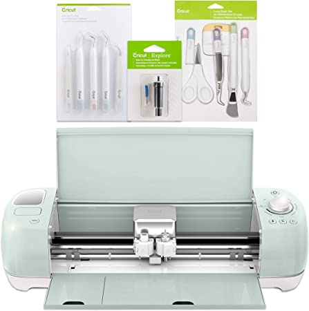 Cricut Explore Air 2 Mint Tools Bundle Basic Tools Weeding Tool Kits Deep Cut Blade Amazon Co Uk Kitchen Home