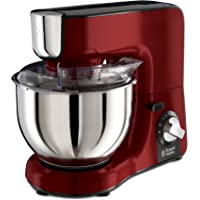 Russell Hobbs 24730-56 Desire Food Processor, 2 vitesses, Impuls/Ice-Crush, Rouge/Noir