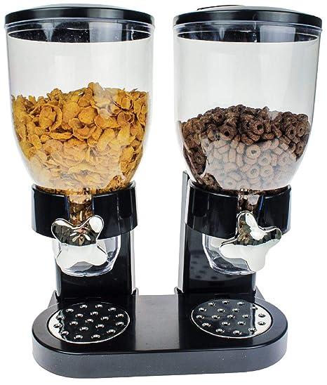 CH Handel Expendedor de muesli y Cereales Dispensador de Cereales Corn Flakes Cereales Dispensador Depósito