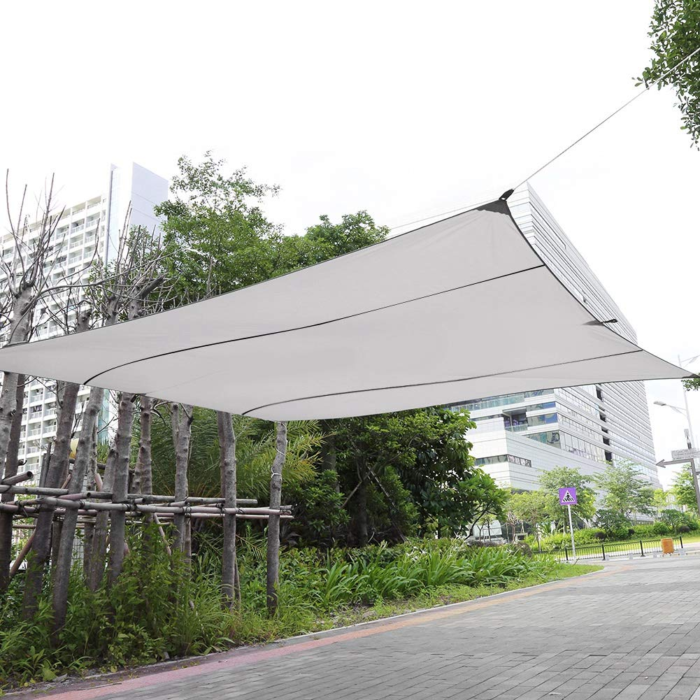 Gray Riuty Parasole paravento da Giardino per Tende da Sole ...