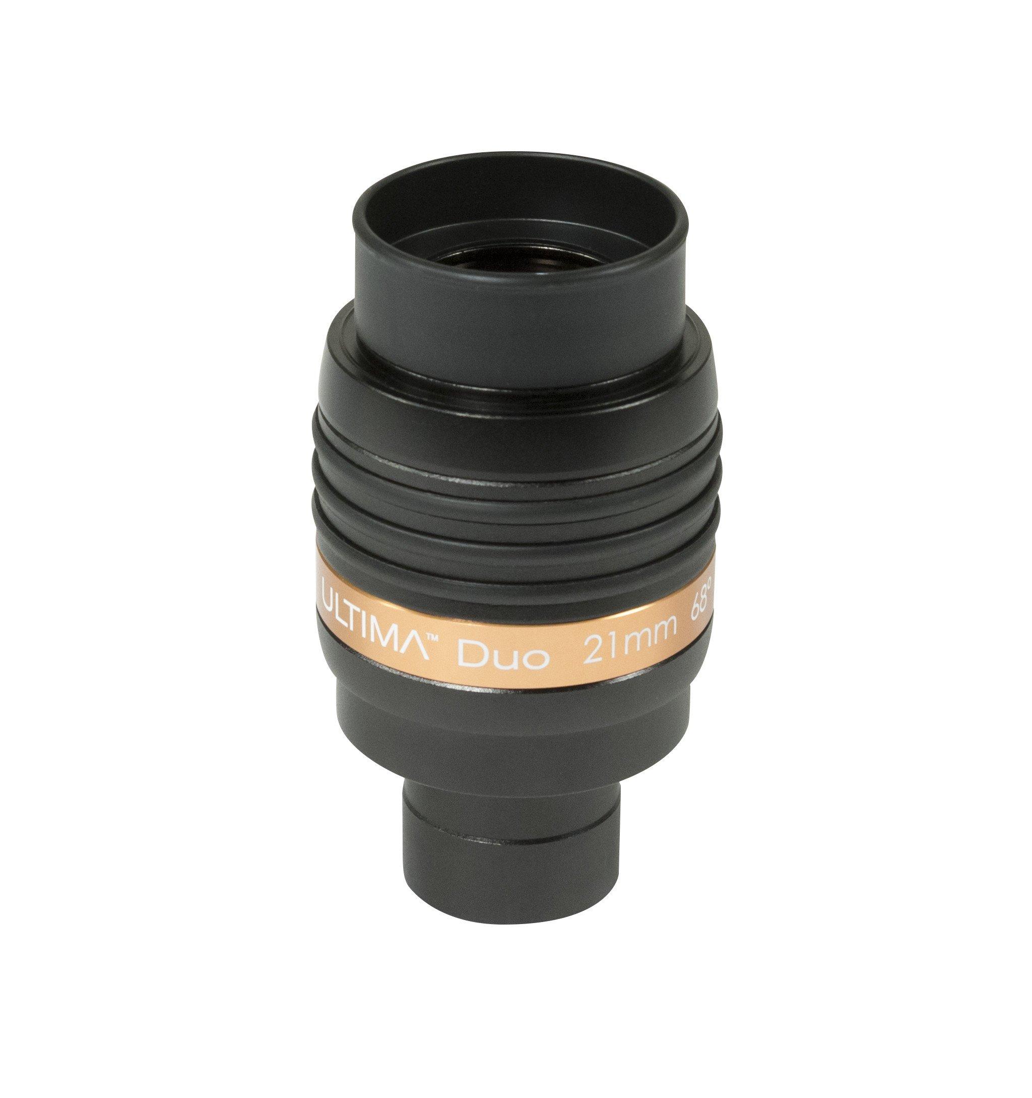 Celestron 93445 Ultima Duo Eyepiece, 1.25/2-Inch, 21mm (Black)