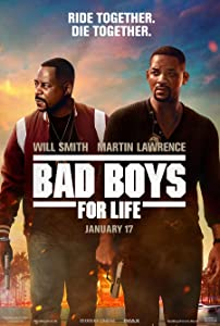 BAD BOYS FOR LIFE MOVIE POSTER 2 Sided ORIGINAL Version B 27x40 WILL SMITH MARTIN LAWRENCE