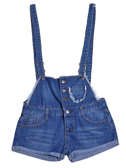 Sexy short overalls