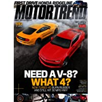 4-Year Motor Trend Magazine Subscription