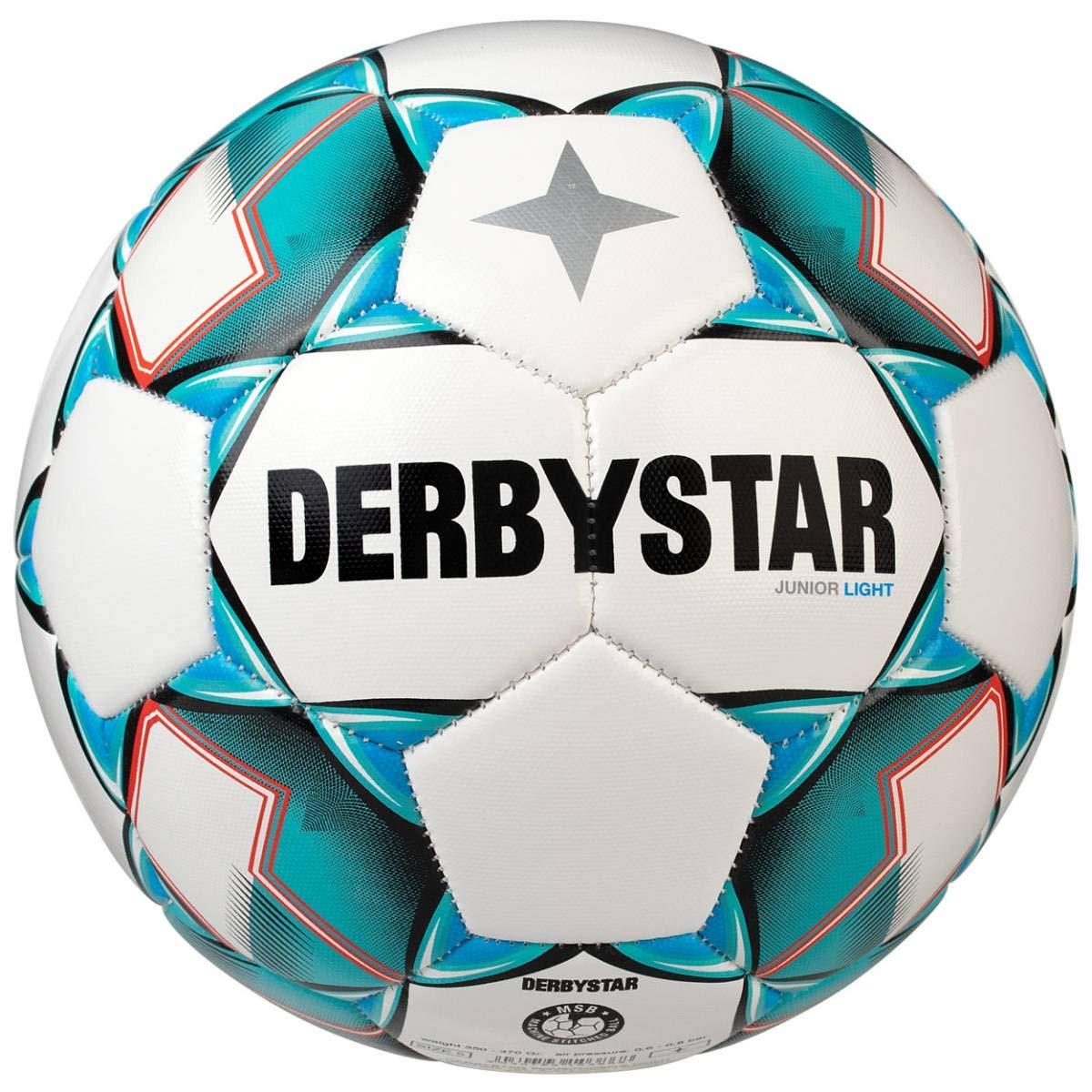 Derbystar Junior Light - Balón de fútbol (Talla 5, 350-370 g ...