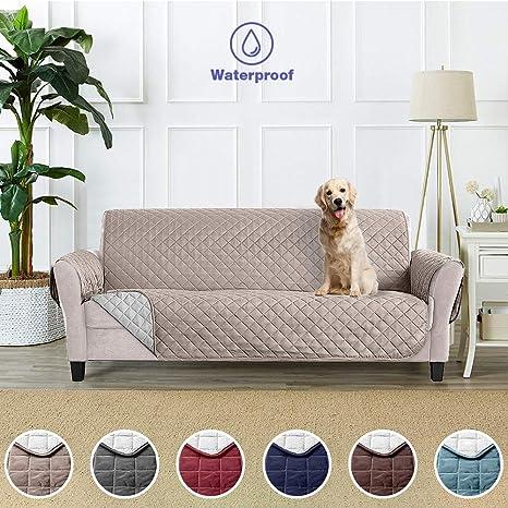 Funda Cubre Sofá Fundas de Sofá Protector Cover para Mascotas Protector de Sofá Cubre para Sofá Impermeable Anti-Sucio para Mascotas Protector de Sofá ...