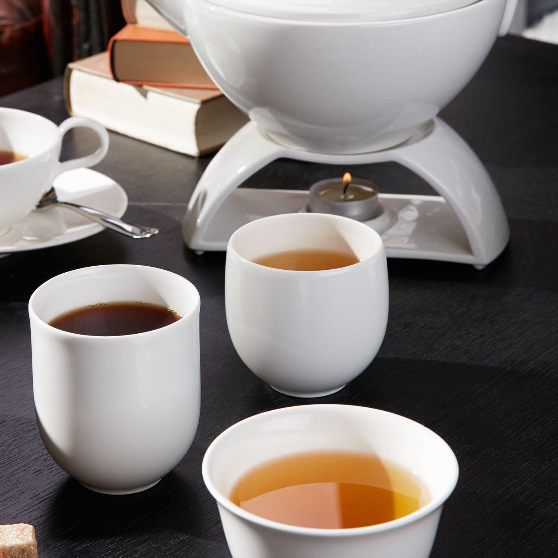 Blanc 200 ml Villeroy /& Boch Tea Passion Tasse /à th/é blanc Porcelaine Premium