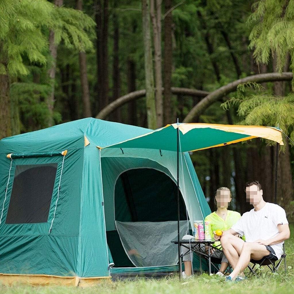 Llq2019 Capacity HWZP Leisure Tent Capacidad de Gran Capacidad para 2-3 Personas Equipo de Viaje para Salidas Familiares Carpa automática portátil (Color : 6306220090) 6306220090