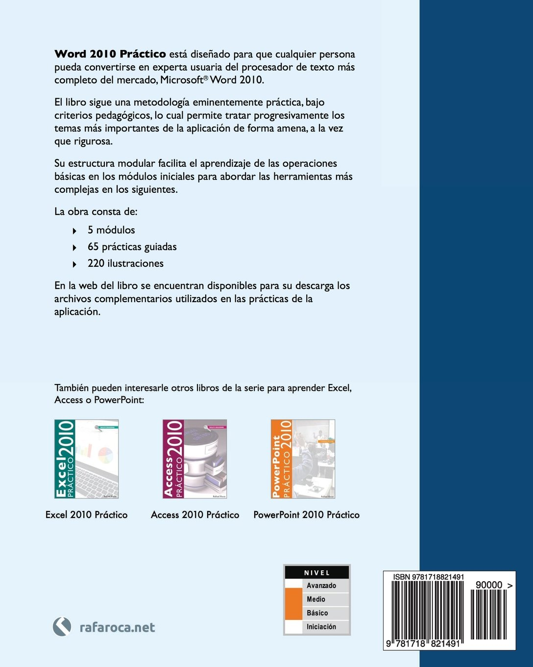 Amazon.com: Word 2010 Práctico (Spanish Edition) (9781718821491): Rafael Roca: Books