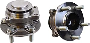 Detroit Axle - Front Wheel Bearing and Hub Assembly for Toyota 86, Subaru BRZ, Scion FR-S, Driver and Passenger Sides - 2pc Set