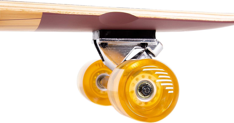 Retrospec Zed Bamboo Longboard Skateboard - 4
