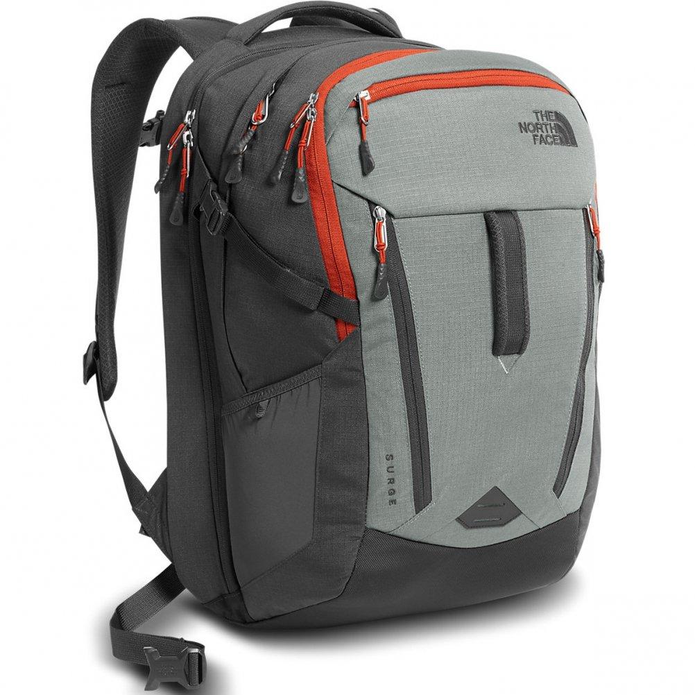 The North Face Surge Backpack Sedona Sage Grey / Asphalt Grey