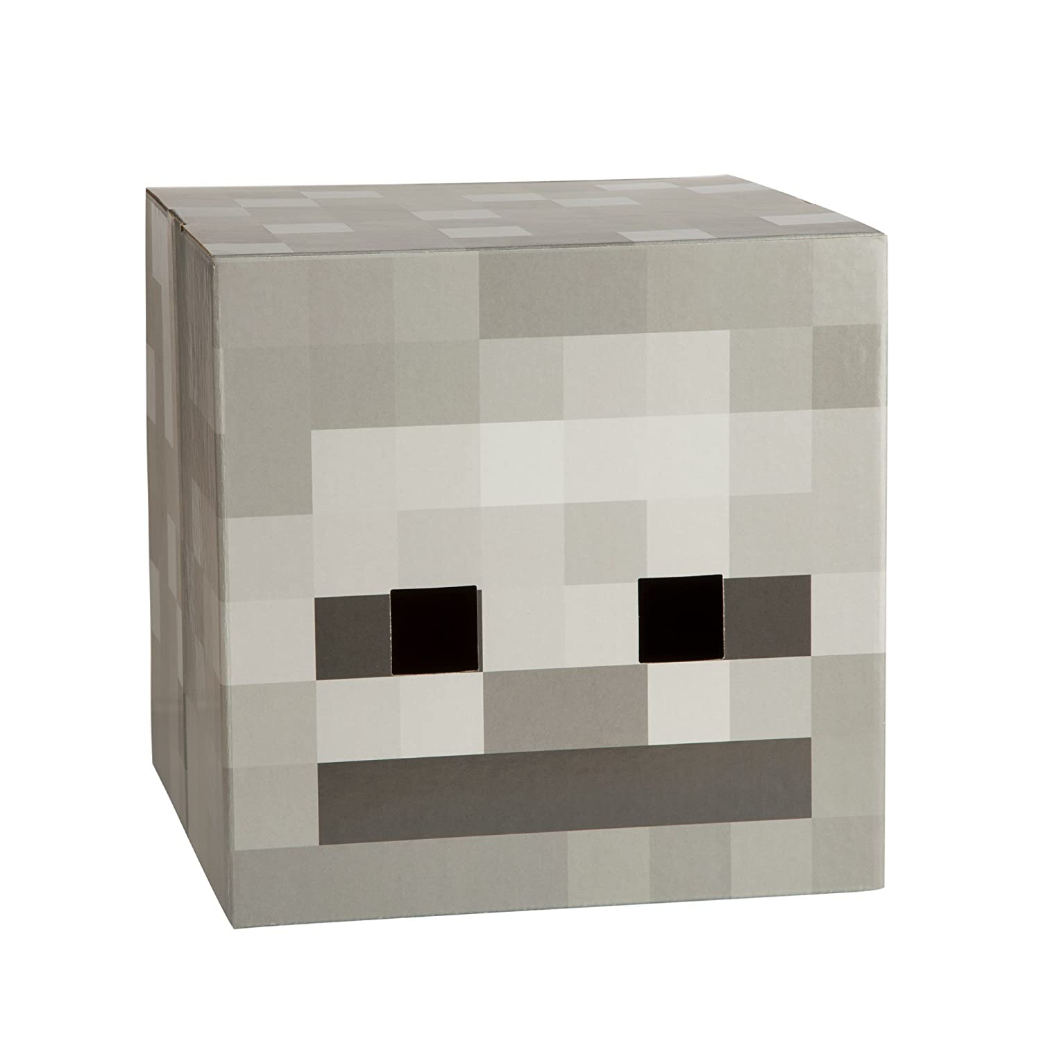 sc 1 st  Amazon.com & Amazon.com: JINX Minecraft Skeleton Head Costume Mask: Toys u0026 Games