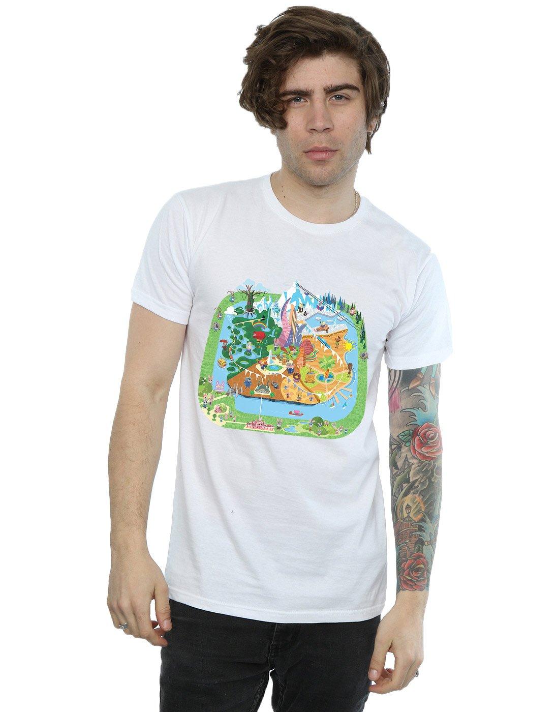 Zootropolis City T Shirt 8740
