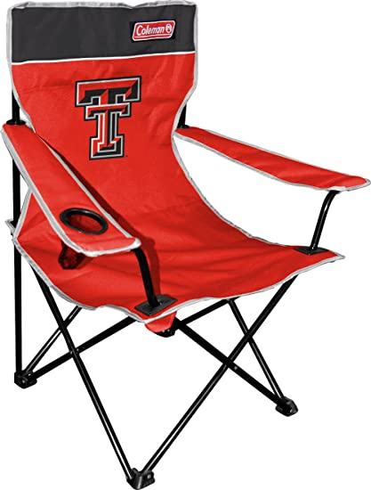 Charmant NCAA Texas Tech Red Raiders Coleman Folding Chair With Carrying Case