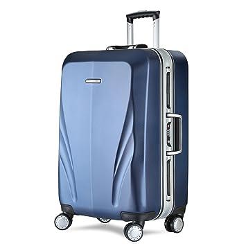 aa04ada8366b Unitravel Hardshell Spinner Luggage Rolling Suitcase Lightweight Trunk with  TSA Lock
