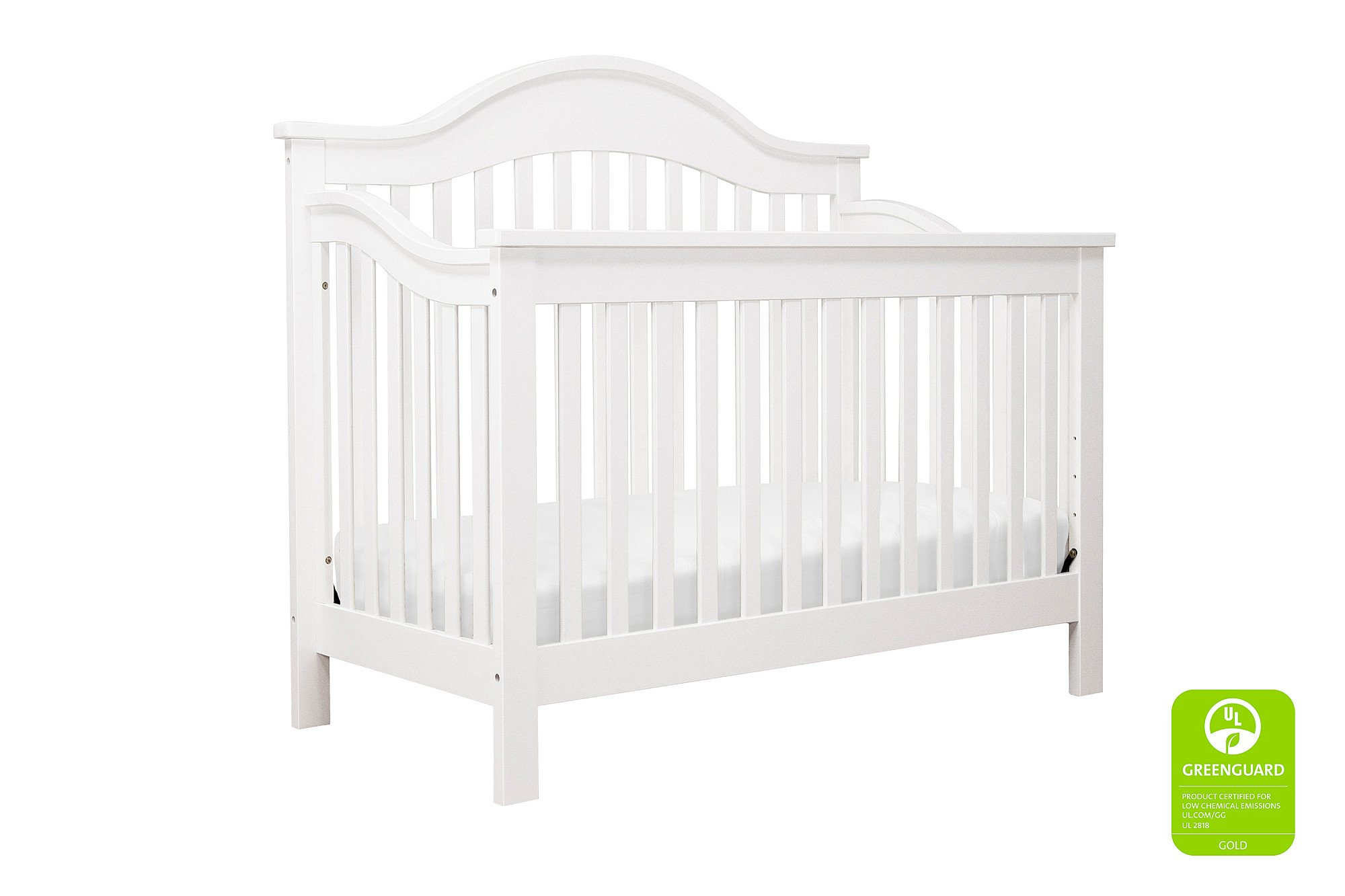 Davinci Jayden 4-in-1 Crib Full Size Conversion Kit Bed Rails - White